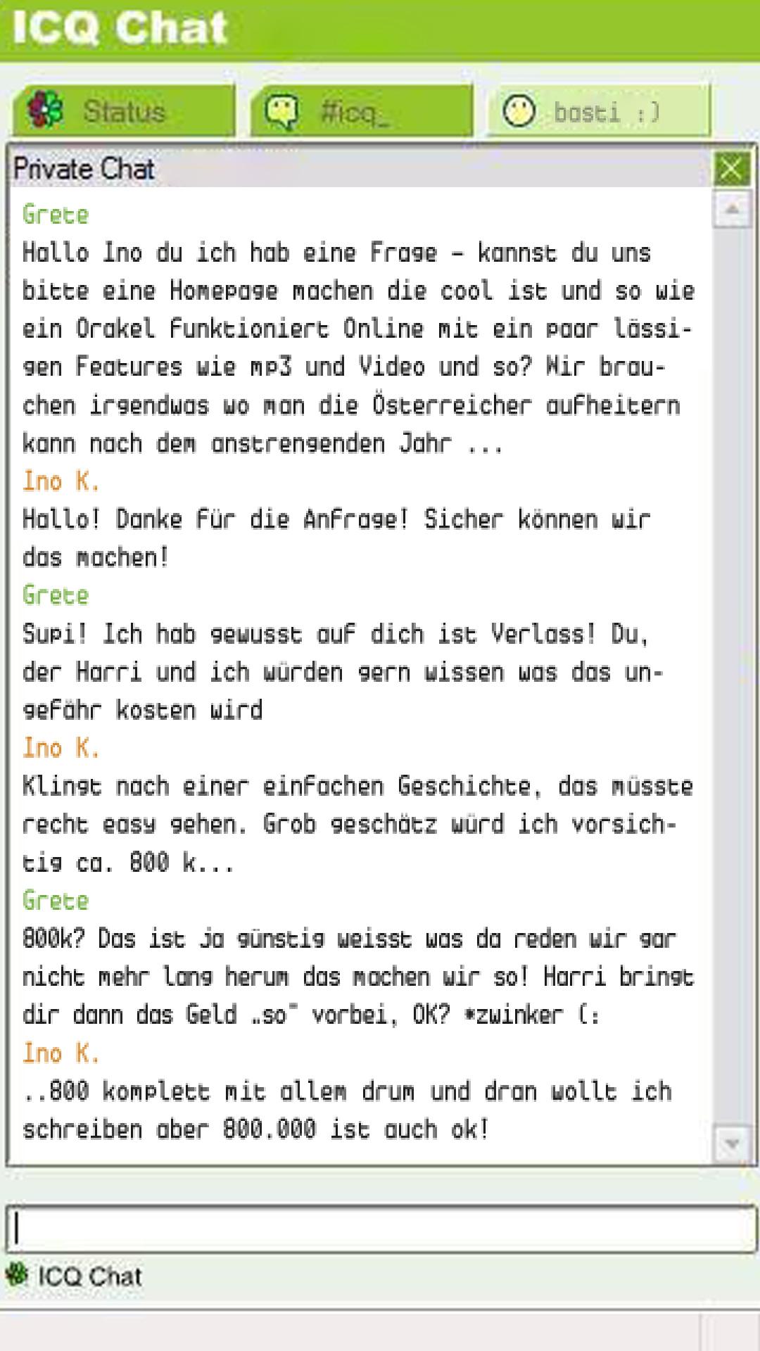 01 INO FRDMSK ICQ Chat 1220