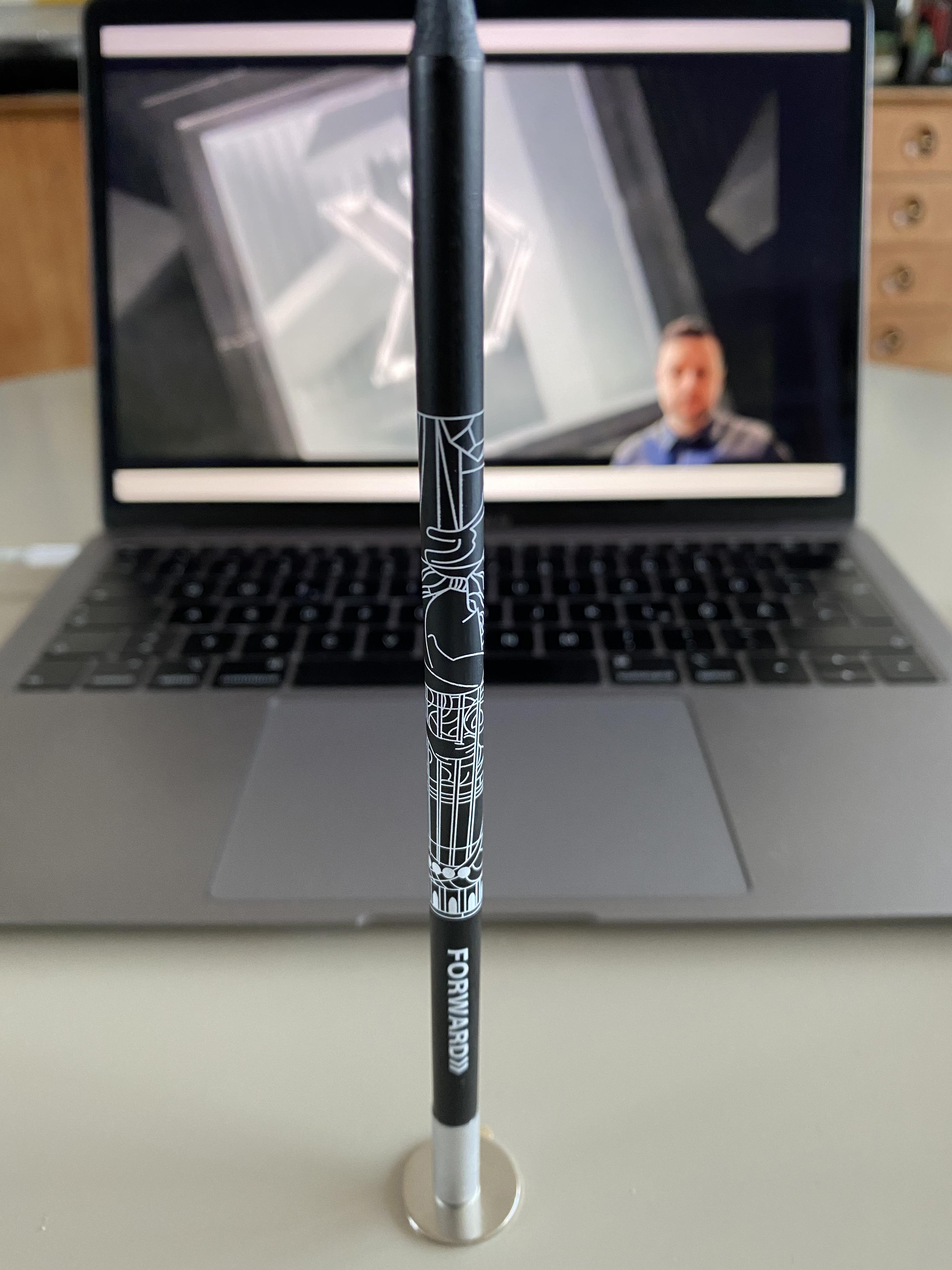 Forward Festival Pencil Found