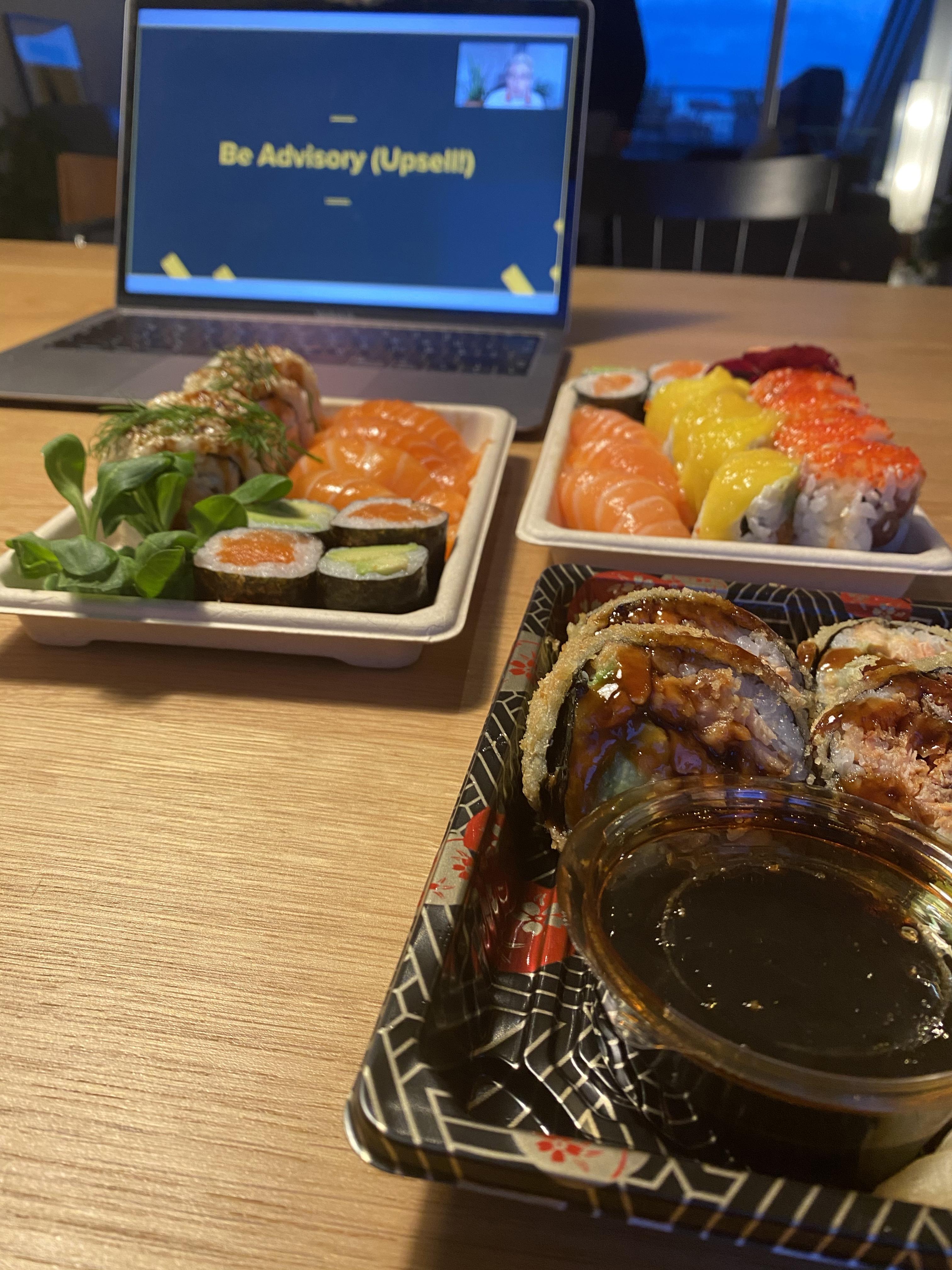Forward Festival Sushi
