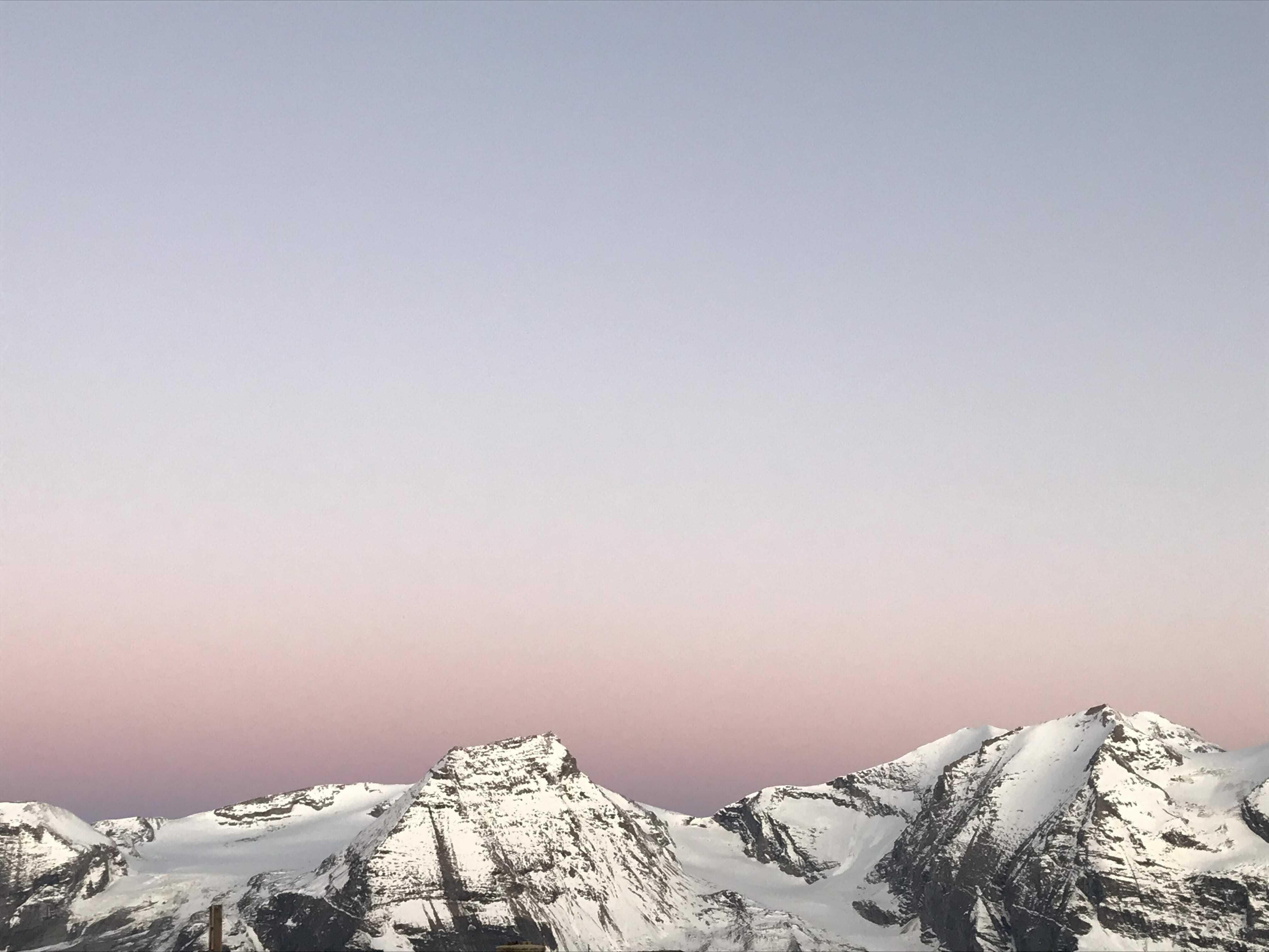 Glockner Sunrise Desktophintergrund