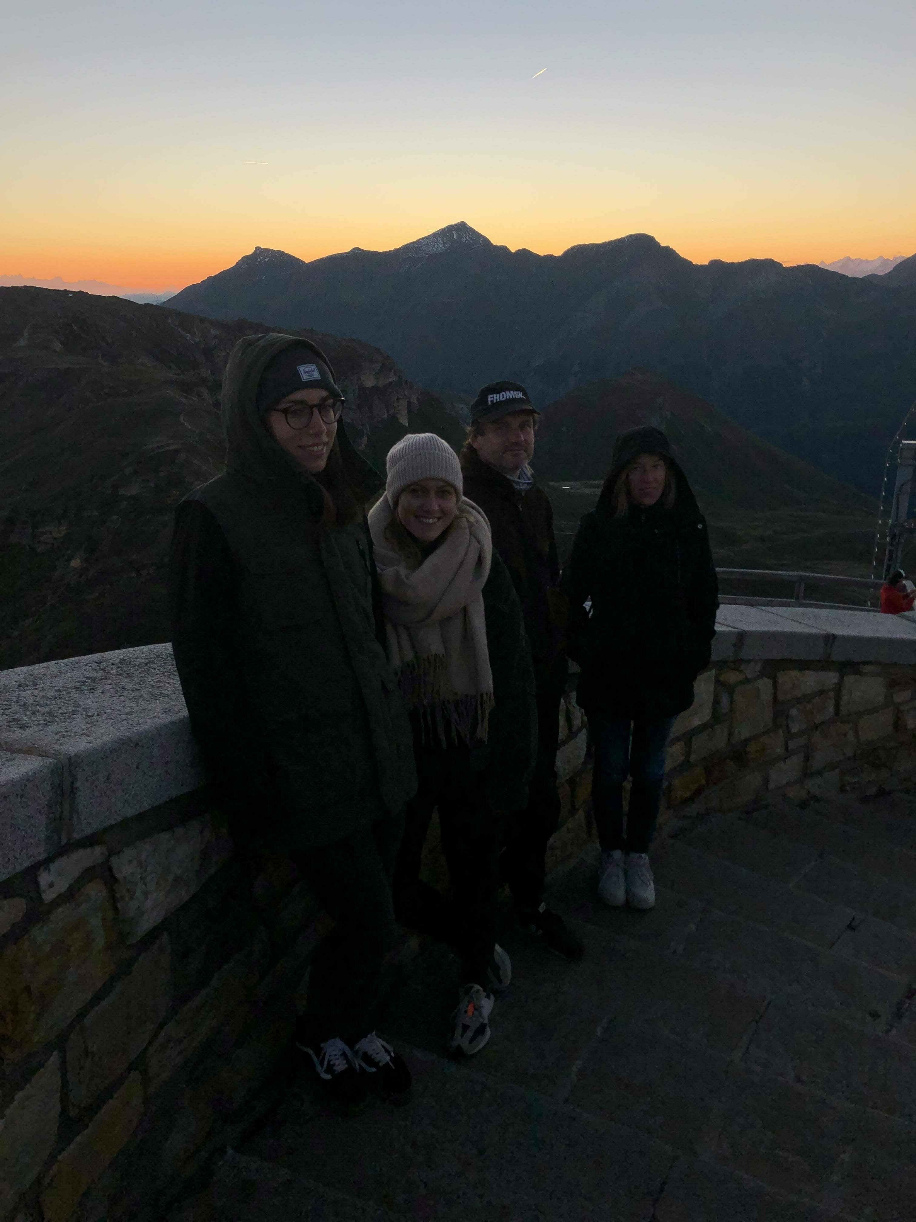 Glockner Sunrise Team2