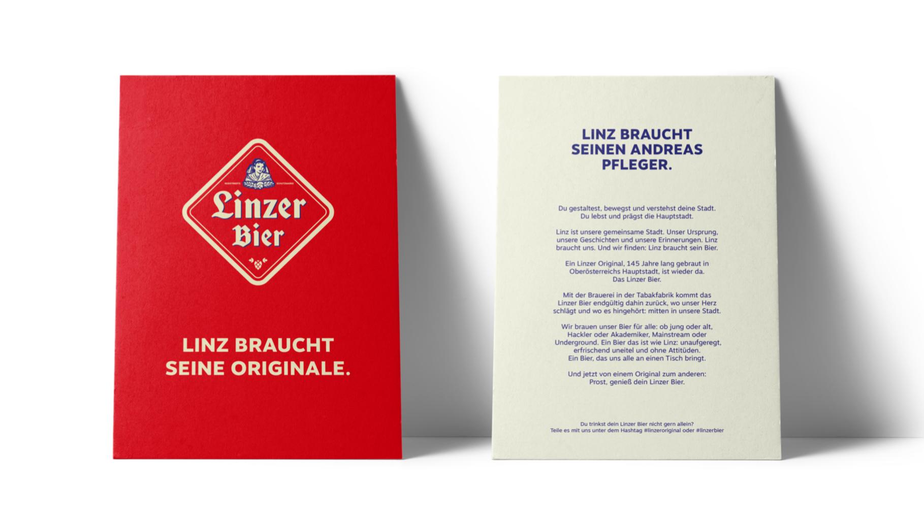 Ref Linzer Bier 6 Karte