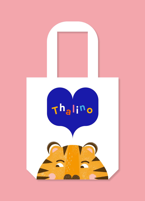 Ref Thalino 14b Buch und Tasche einzeln