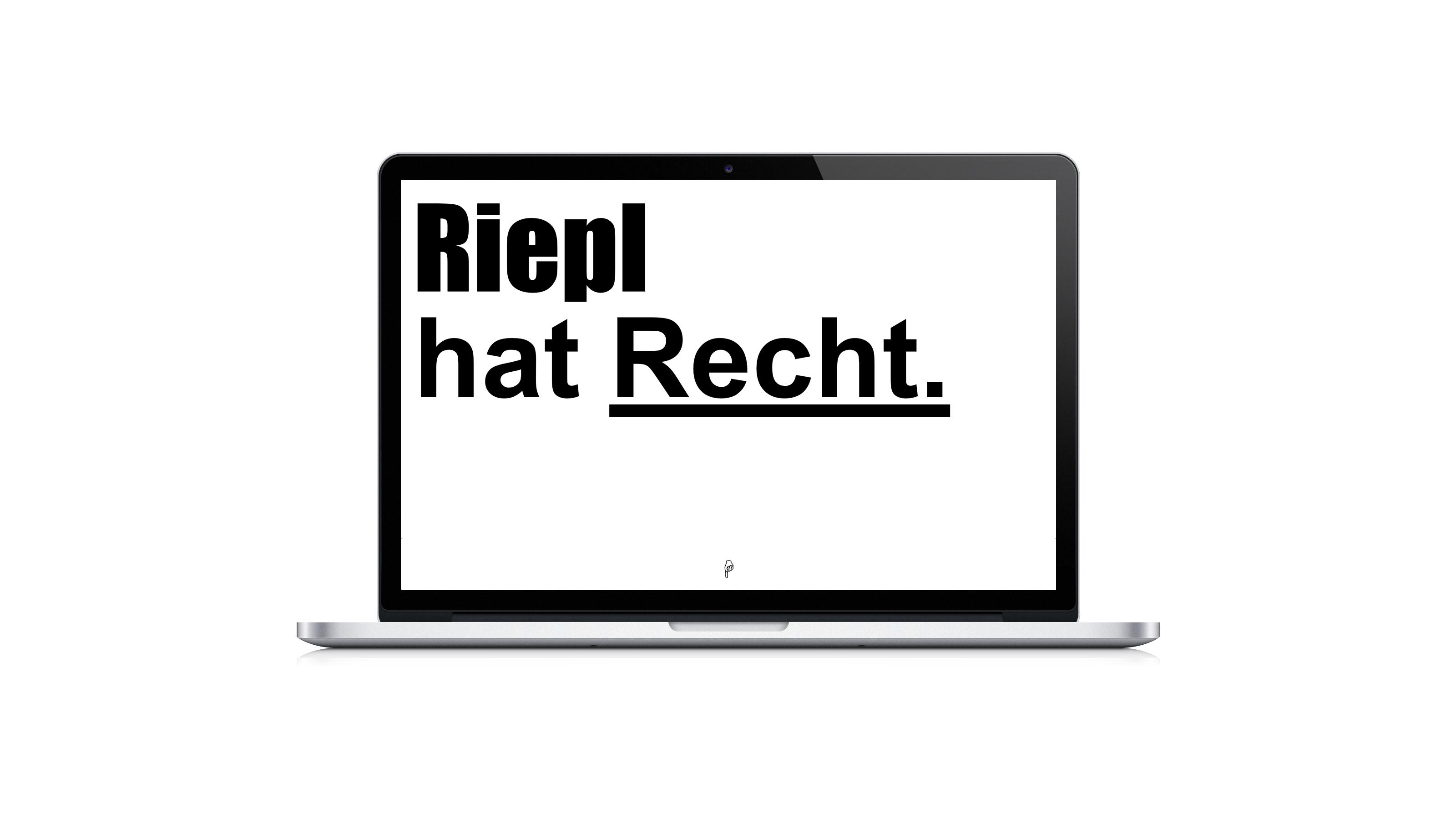 Riepl Referenz Laptop