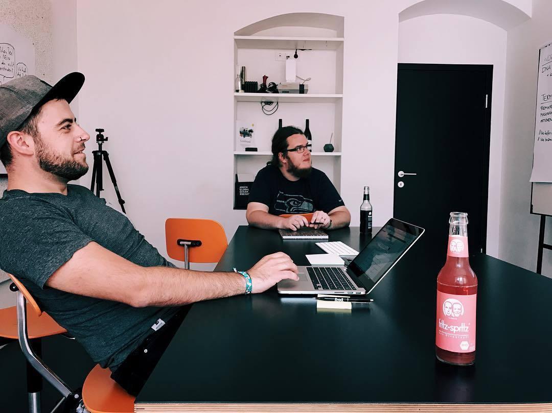 Besprechungsraum im Büro Linz