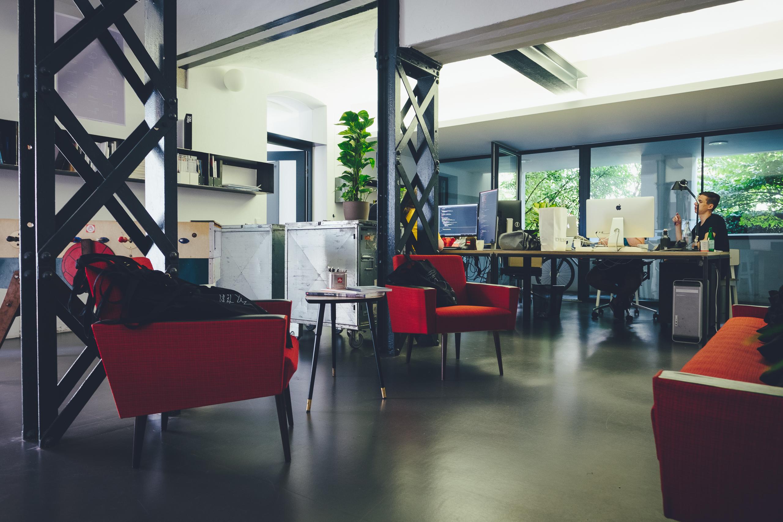Büro Linz von innen