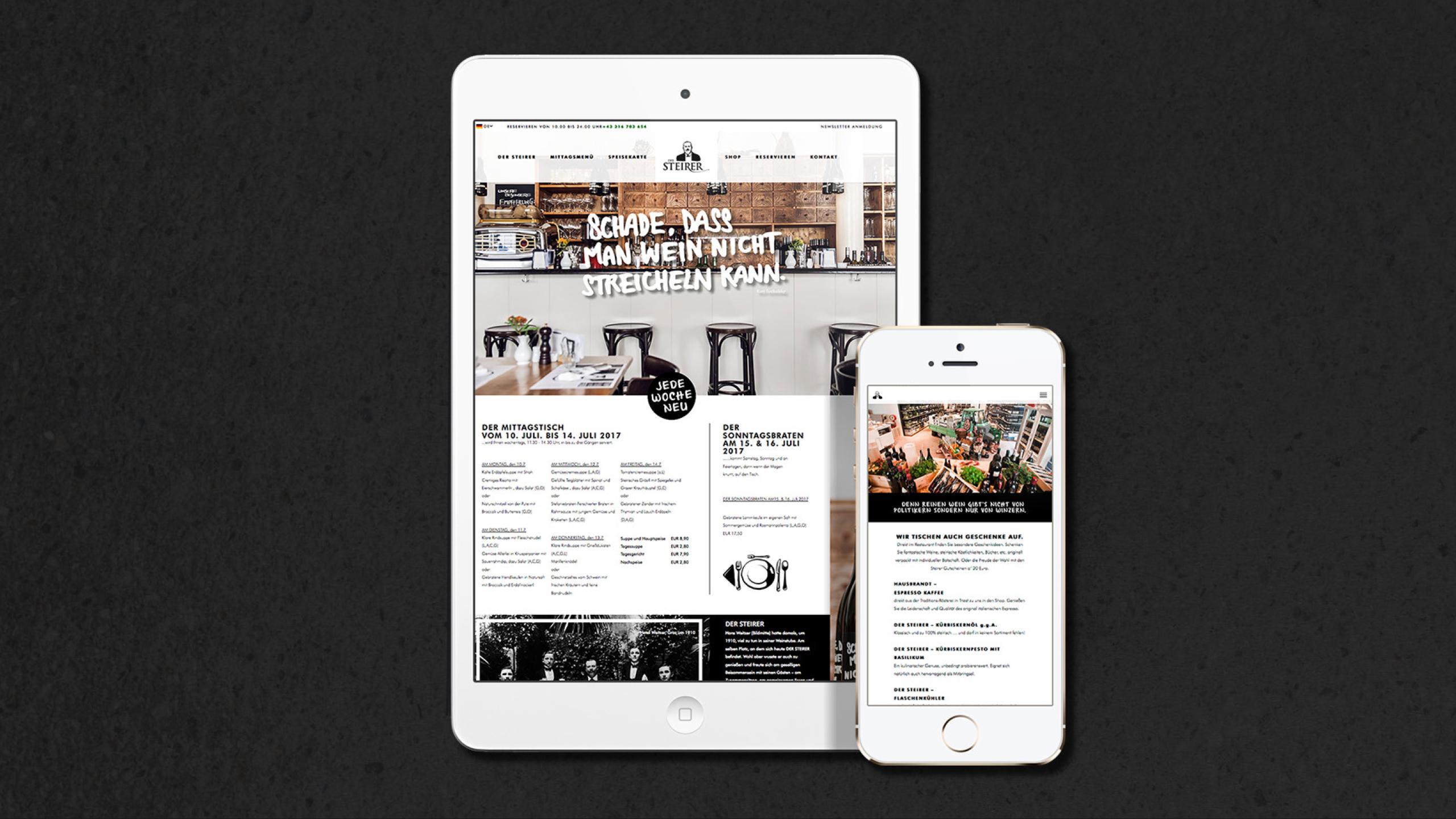 Ref Dersteirer Webdesign Responsive