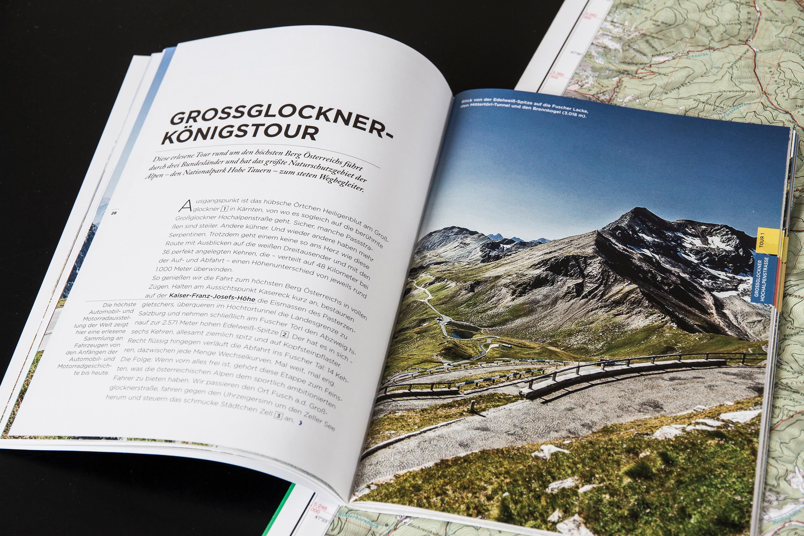 Ref Grossglockner Hochalpenstrasseeditorial Design