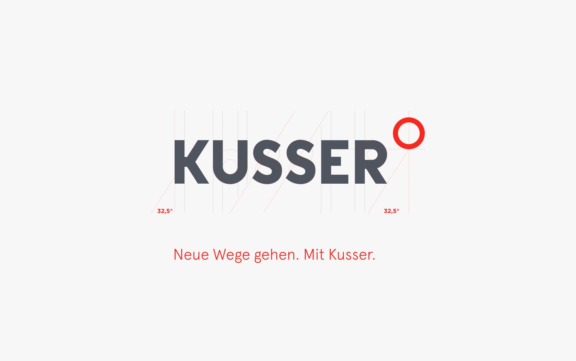Kusser Logoentwicklung