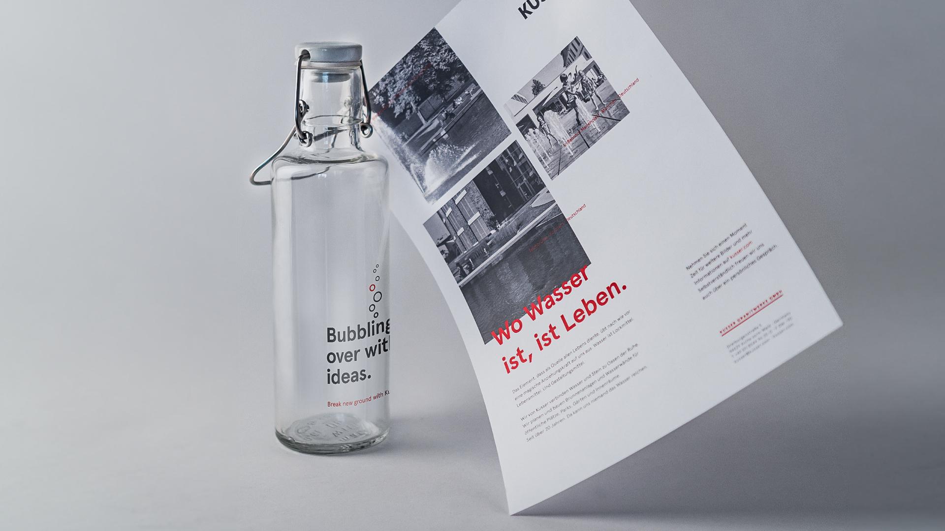 Kusser Mailing Wasserflasche