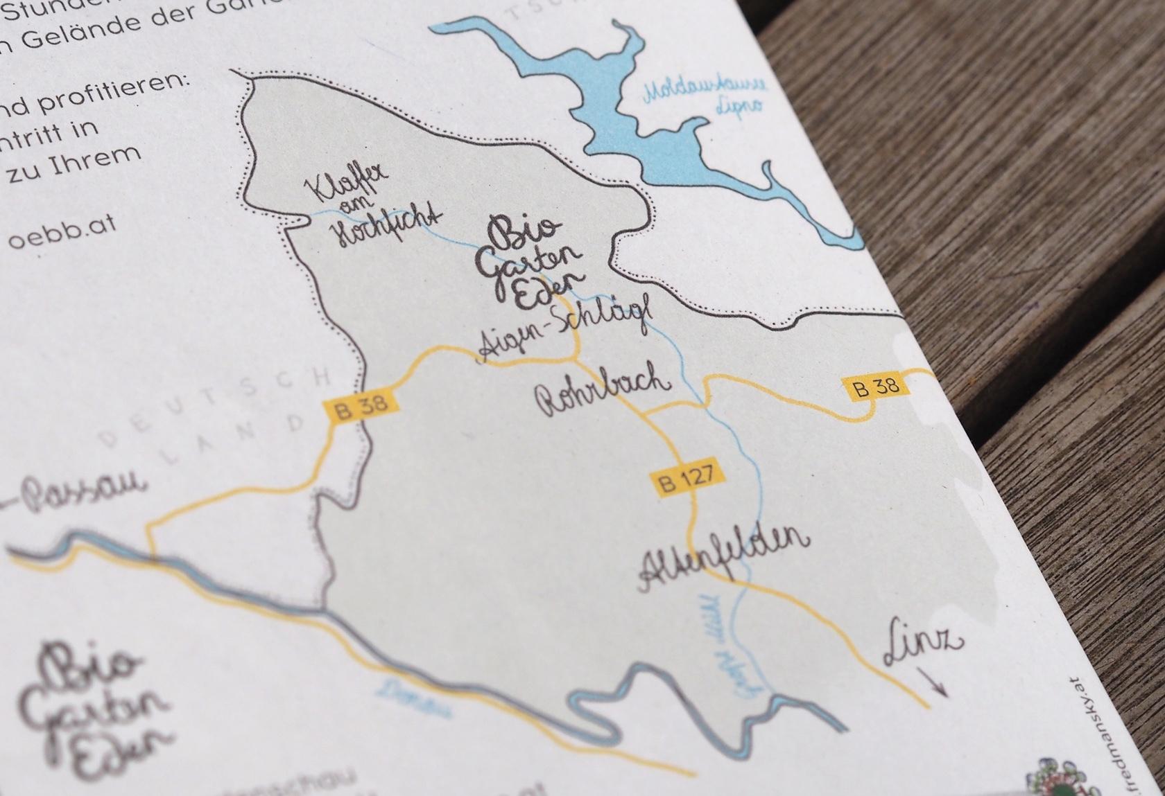 OÖ Landesgartenschau Anfahrtsplan