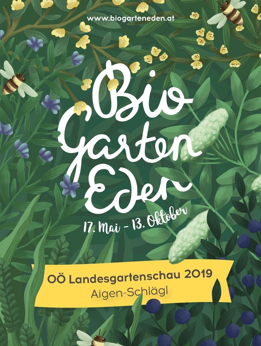 OÖ Landesgartenschau - Folder Entwurf
