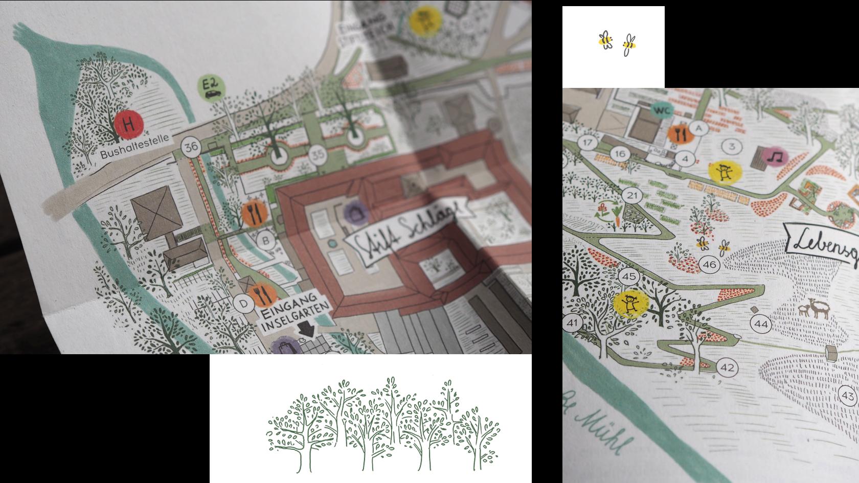 OÖ Landesgartenschau Geländeplan Detail