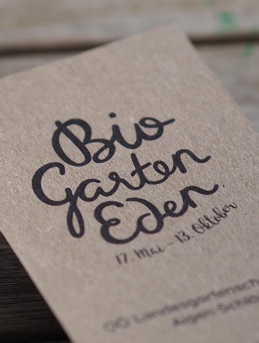 OÖ Landesgartenschau Briefpapier Detail