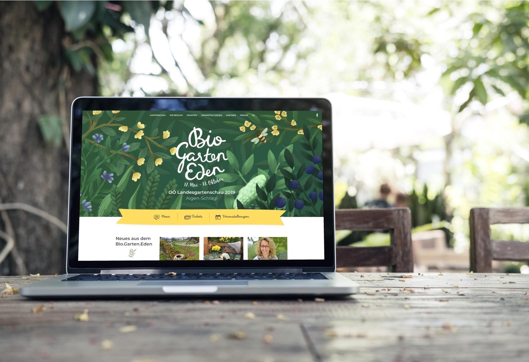 OÖ Landesgartenschau Website