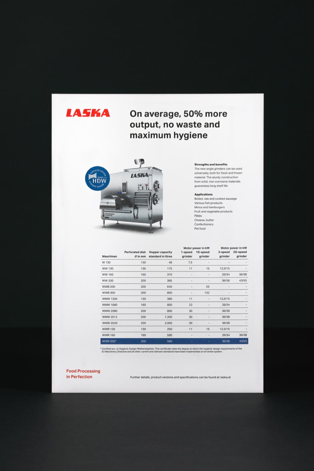 Ref laska branding 007c L product sheet