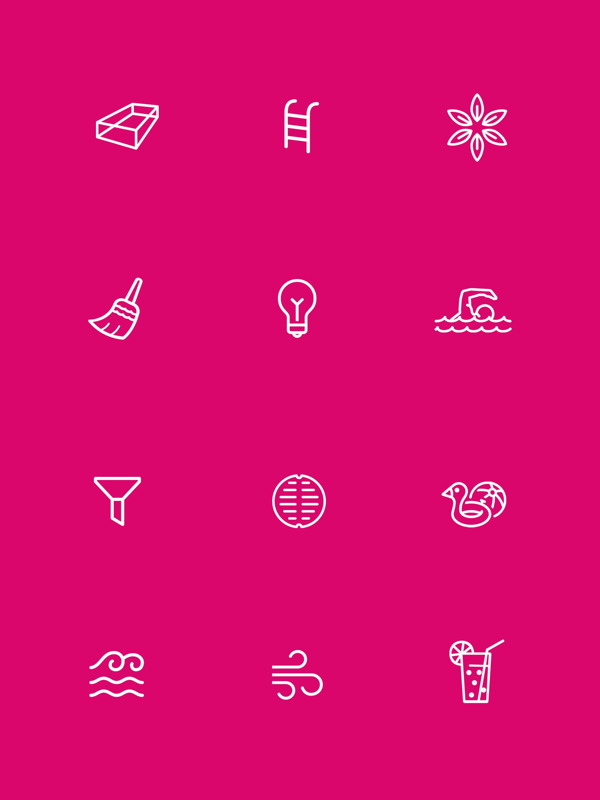 Ref Loop Icons Pink