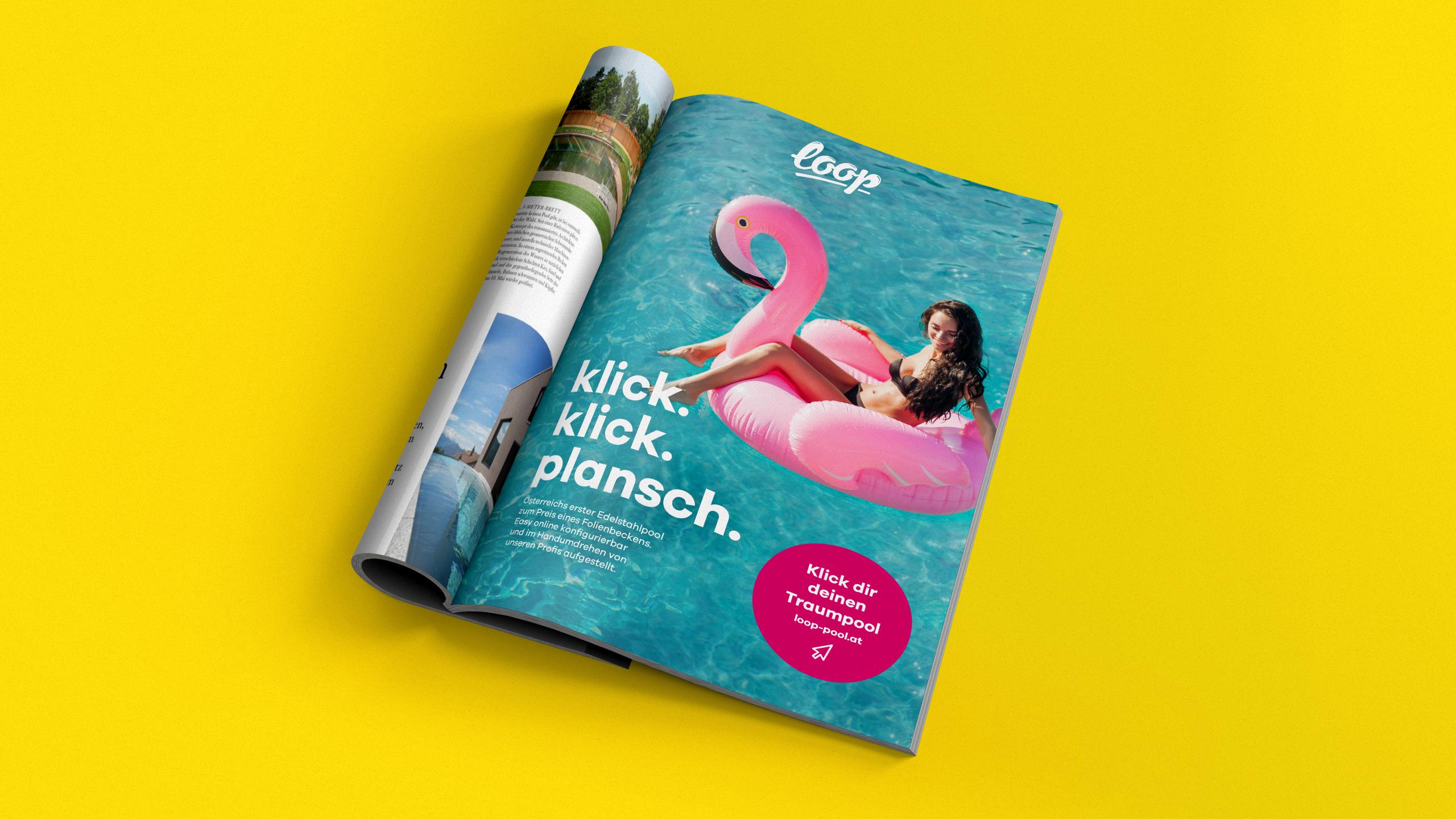 Ref Loop Magazine Mockup