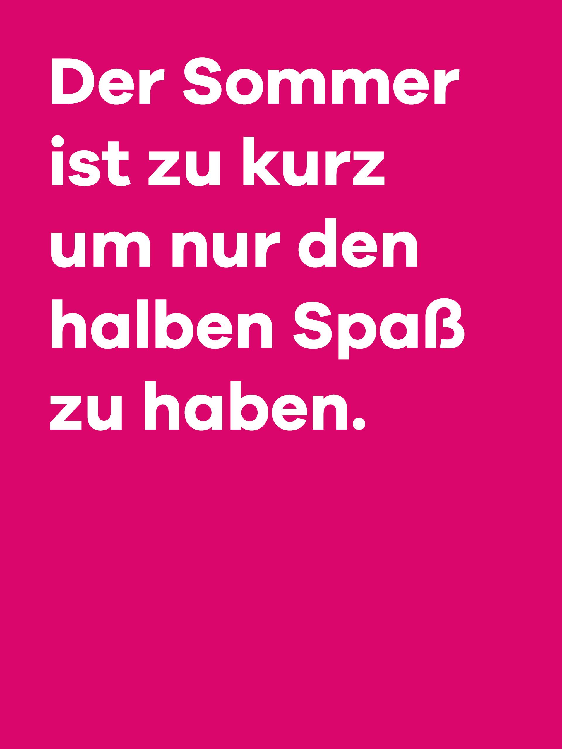 Ref Loop Spruch Spass Pink