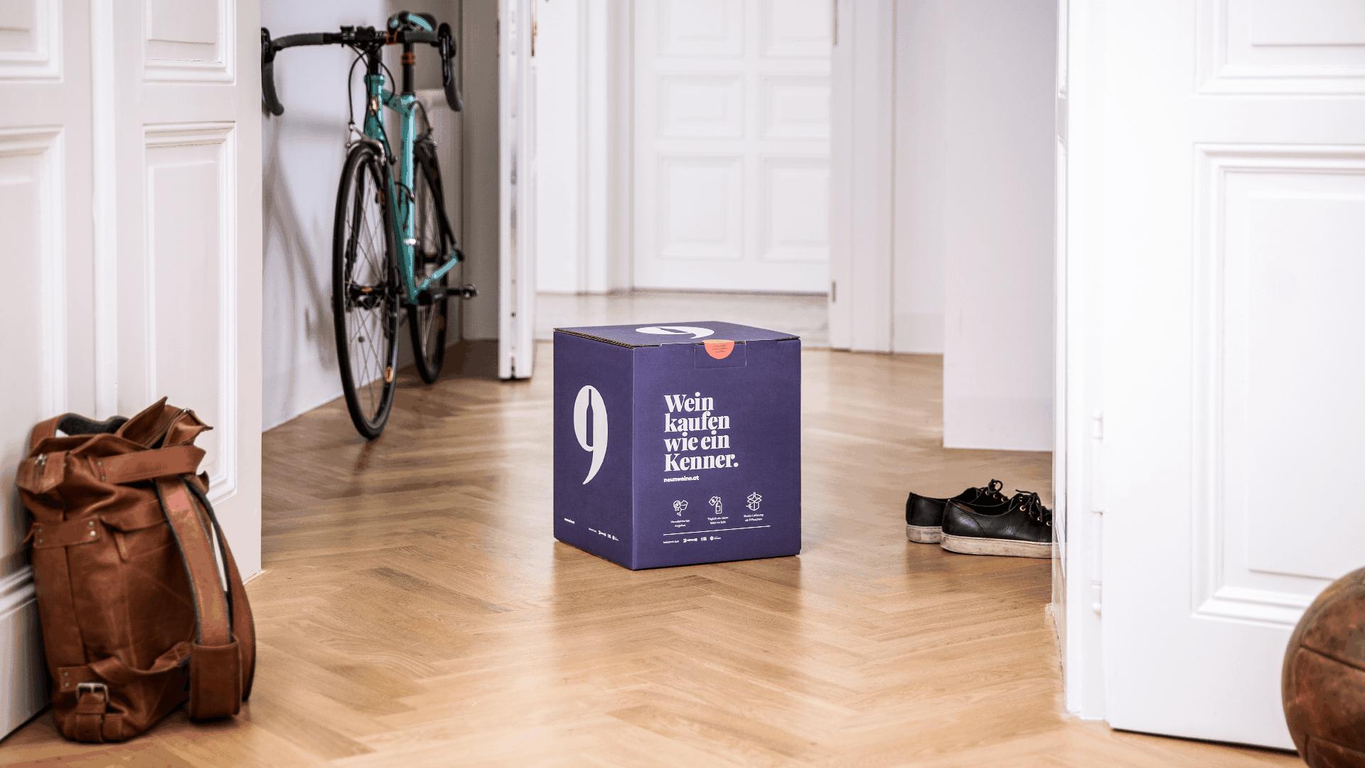 Neunweine Verpackungsdesign 3