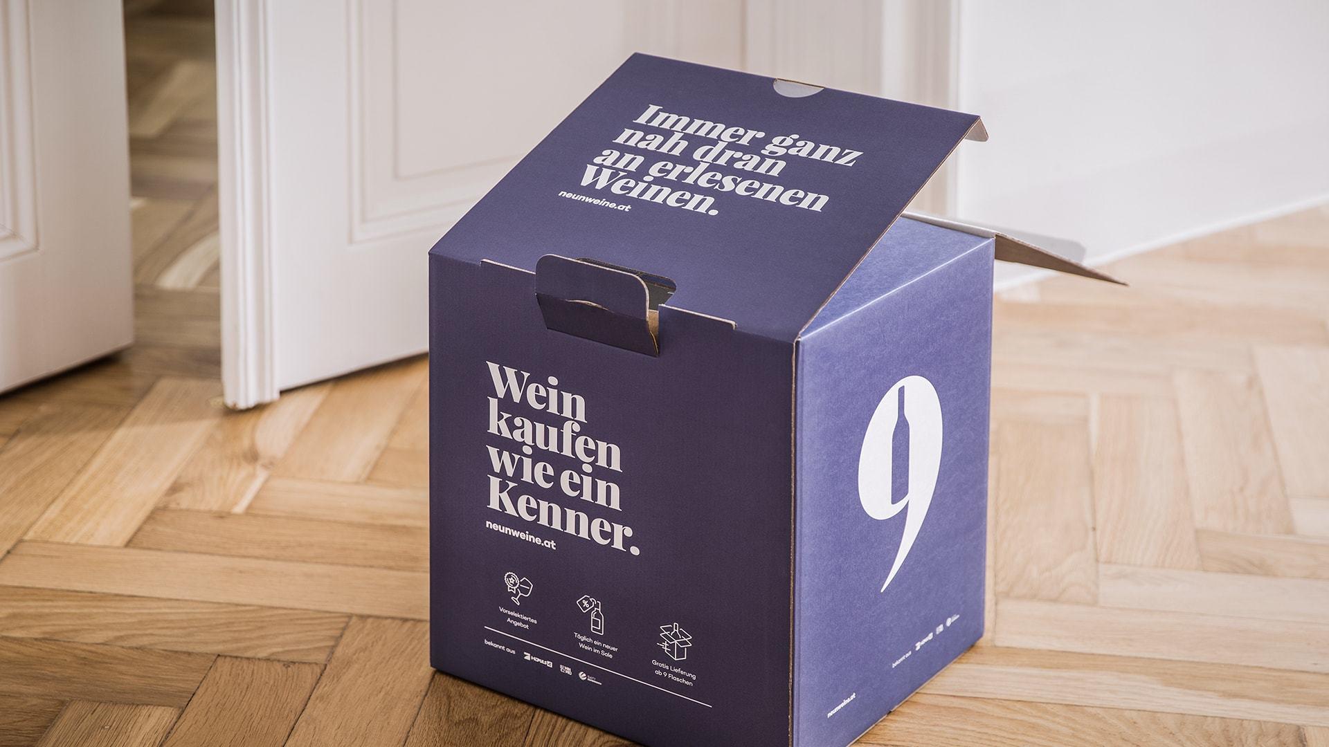 Neunweine Verpackungsdesign 4