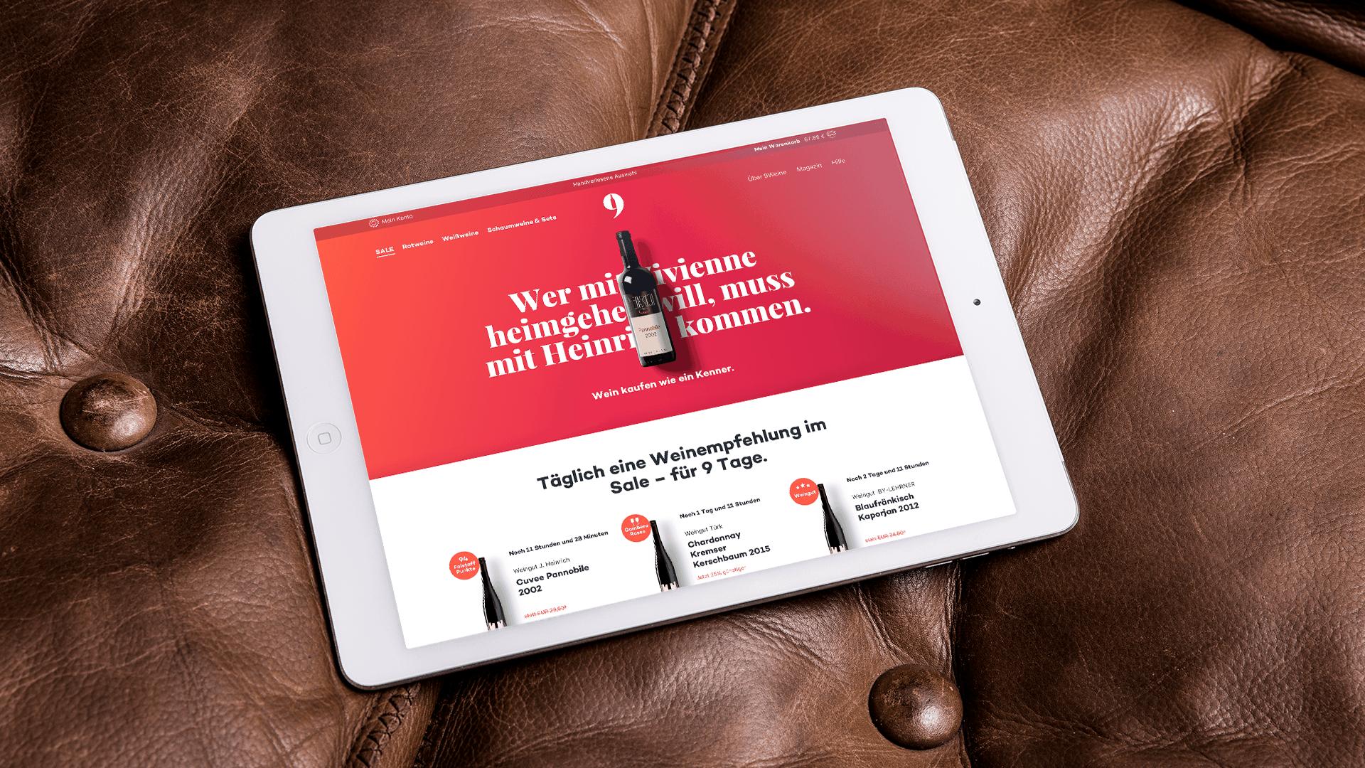Ref Neunweine Webdesign