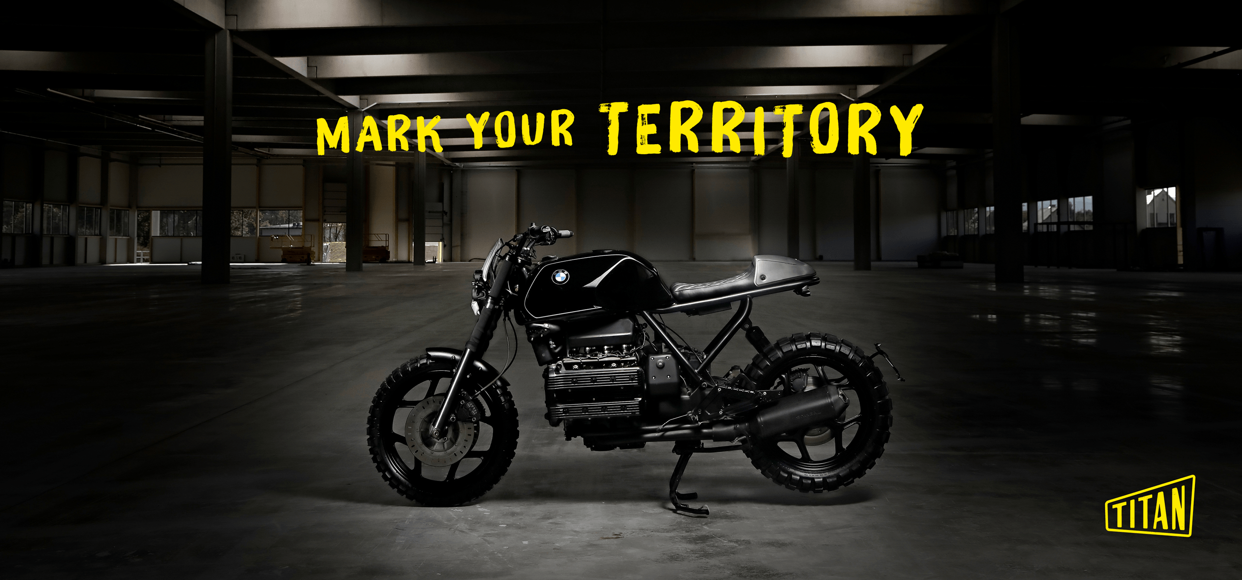 Titan Motorcycles Fotografie Claim