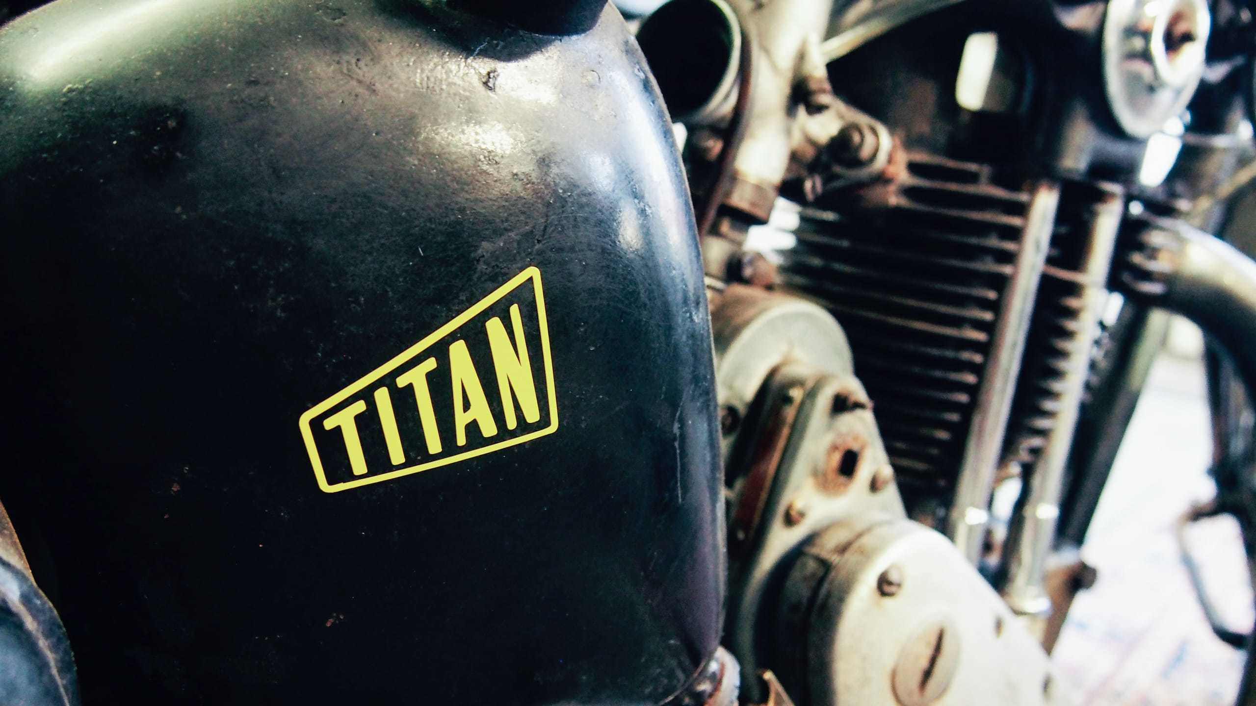 Titan Motorcycles Logodesign