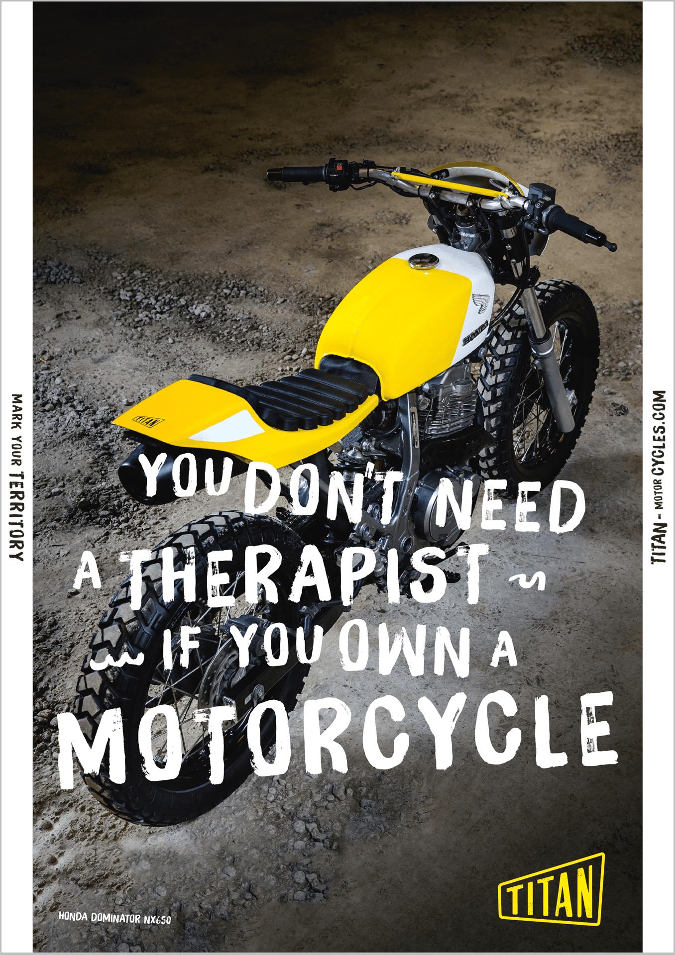 Titan Motorcycles Poster 1