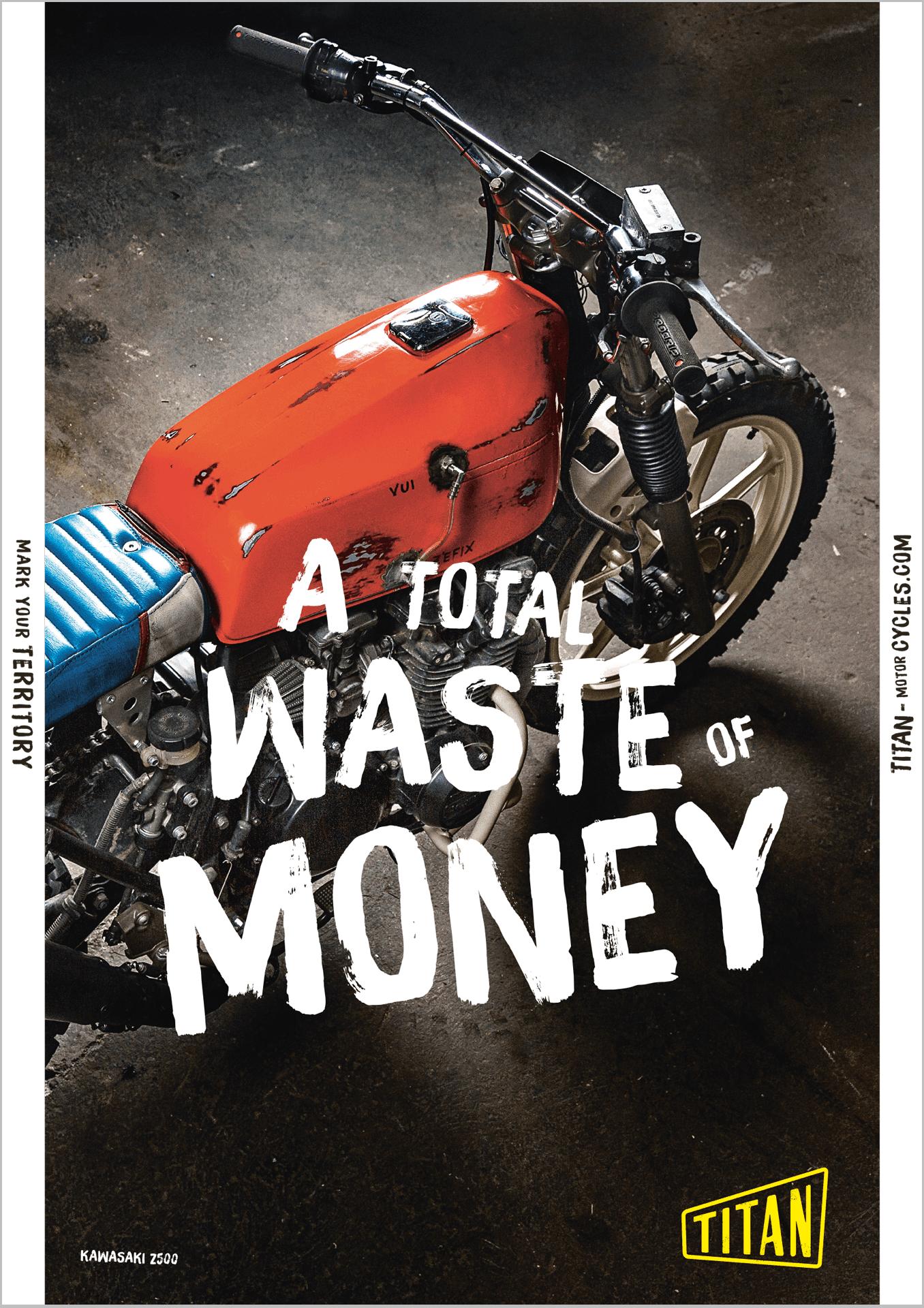 Titan Motorcycles Poster 3