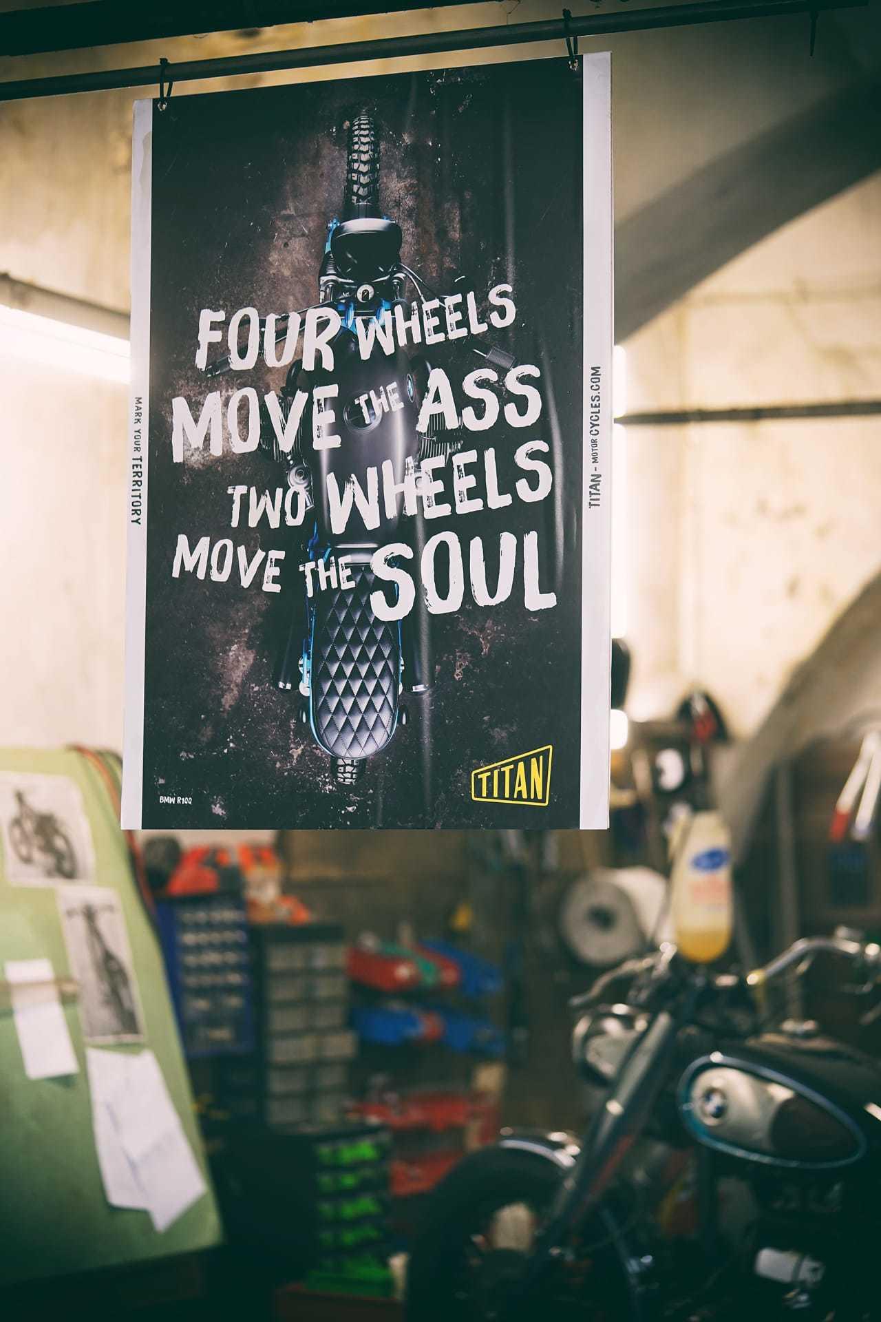 Titan Motorcycles Poster 4