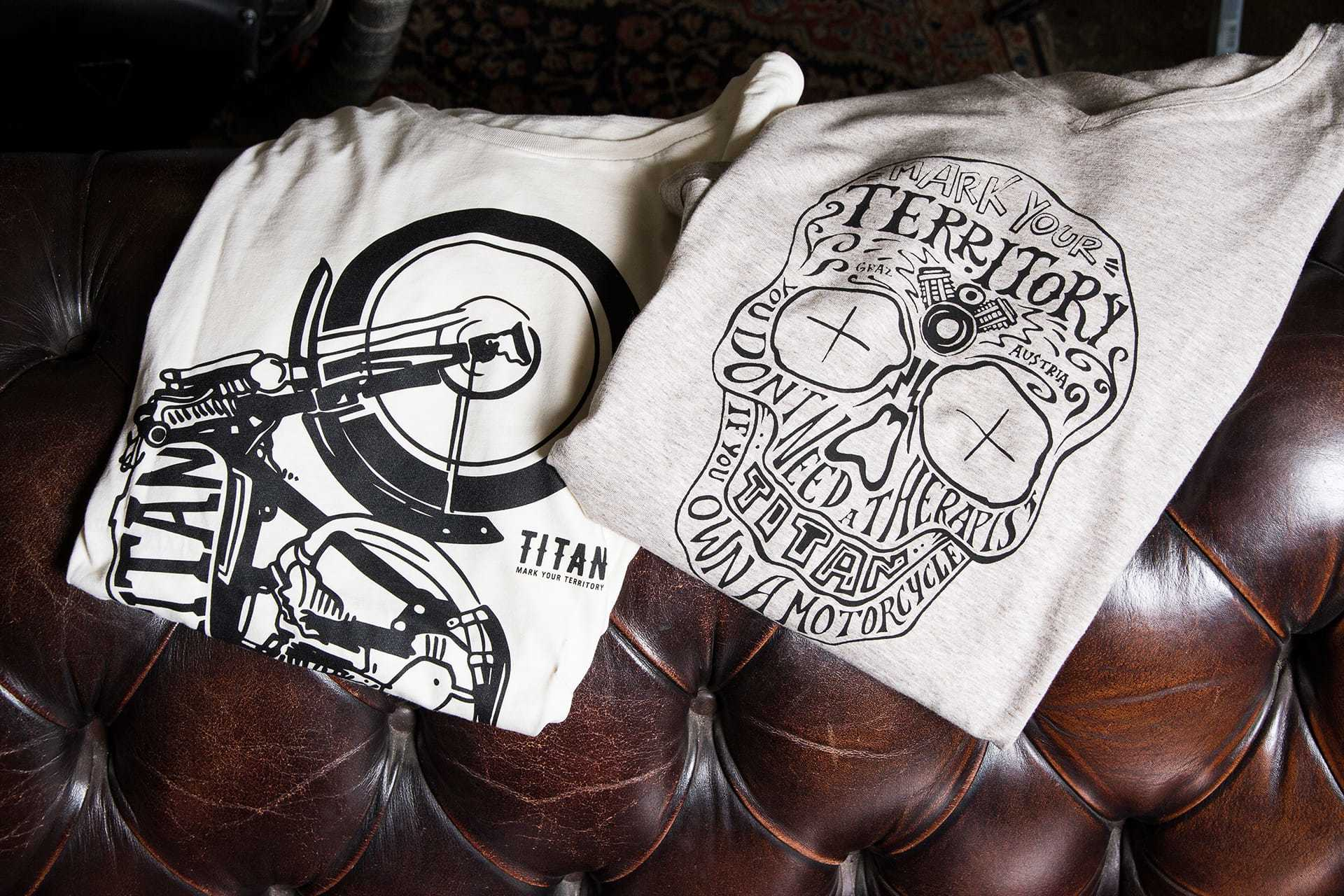 Titan Motorcycles T Shirts 3