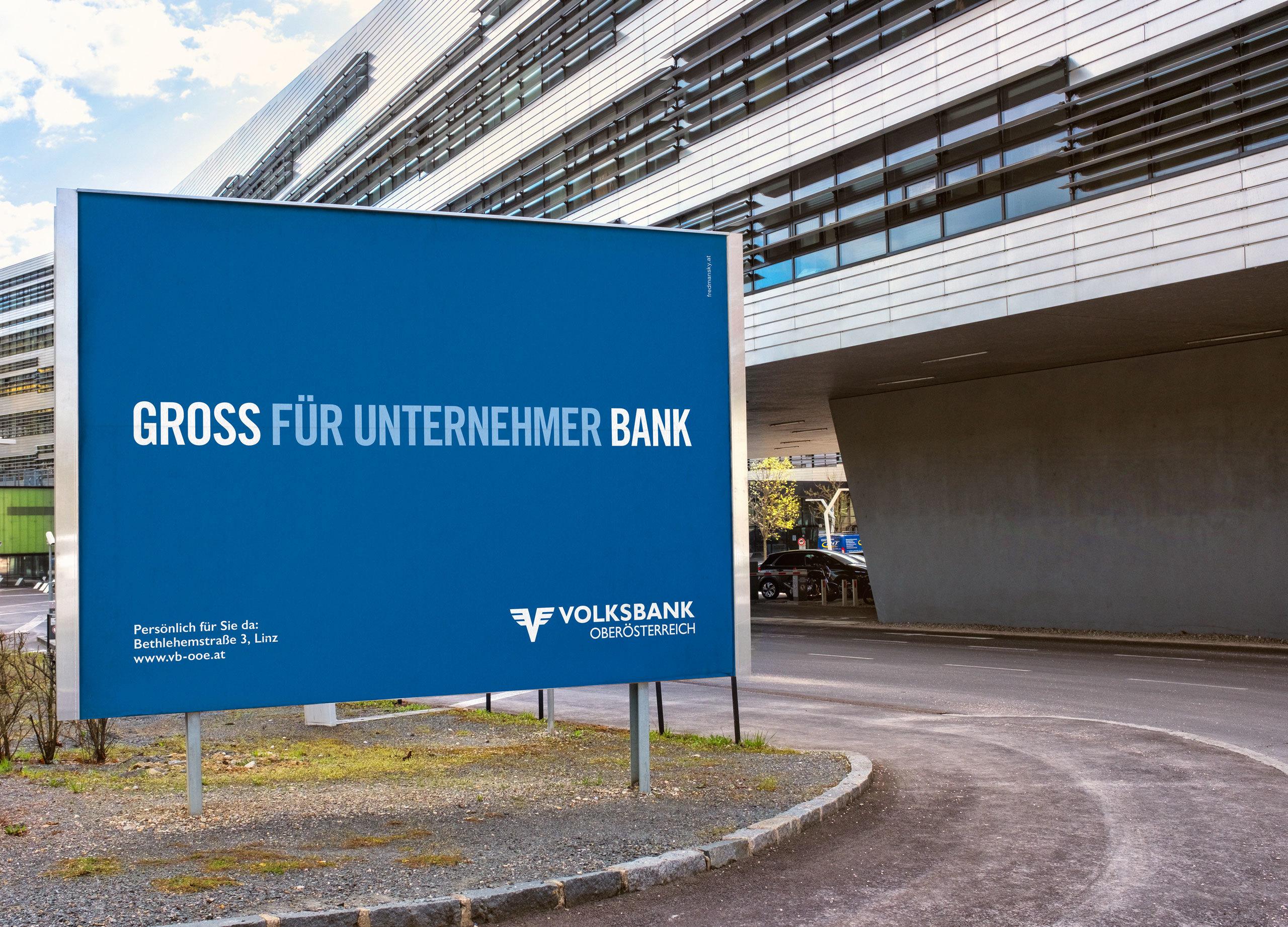 Ref Volksbank 16 Bogen Plakat