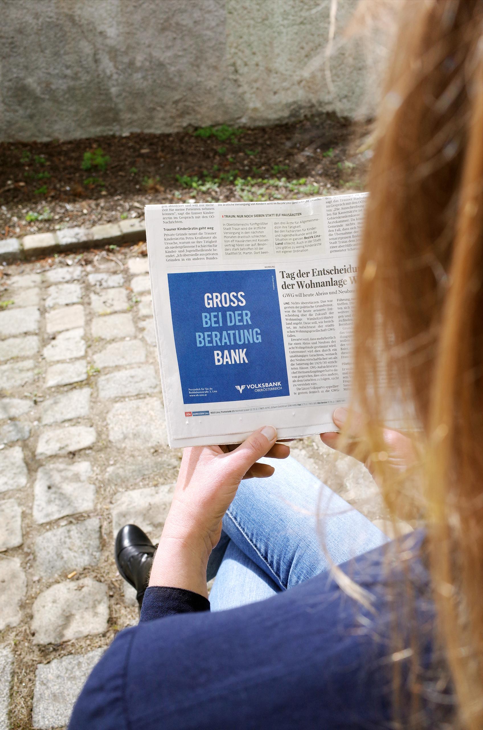 Ref Volksbank Anzeige