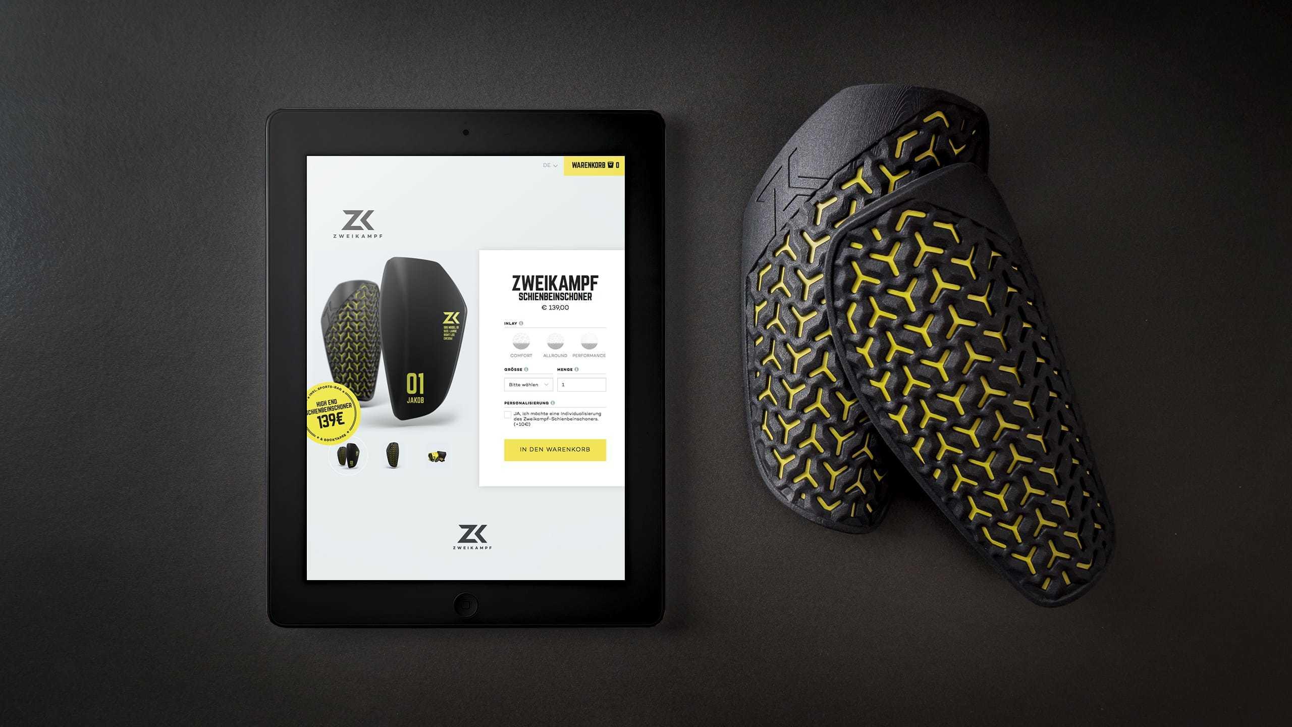 Ref Zweikampf Webdesign Ipad